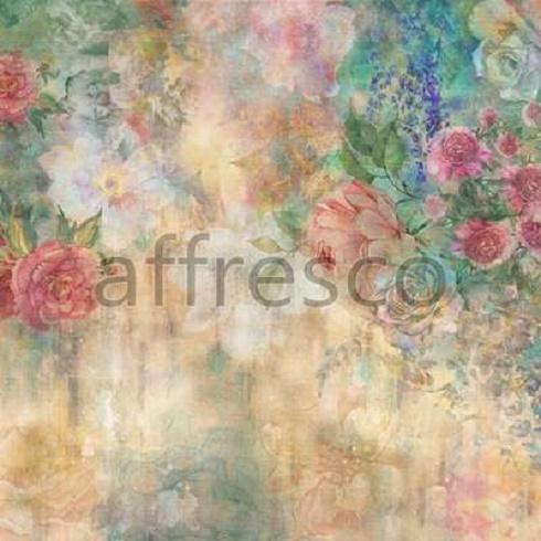 фреска с цветами