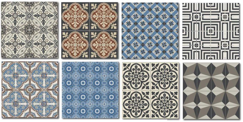 Английская плитка от современных дизайнеров