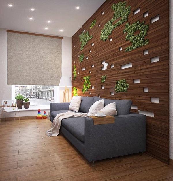 Стеновые панели из обожженного дерева SUNTAN NATURAL