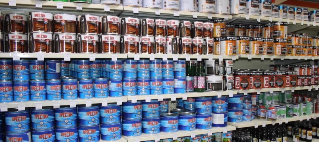 магазин краски в Ростове фото 4