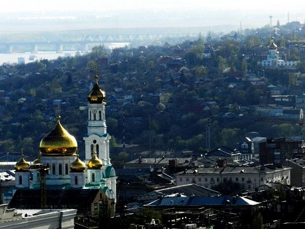 купола, покрытые сусальным золотом