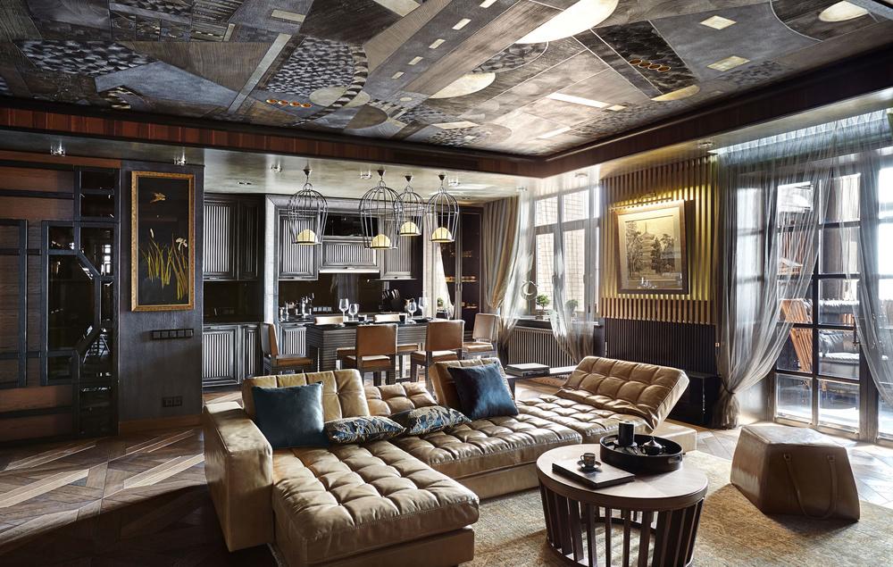 Дизайнерский ремонт и декор стен и потолков