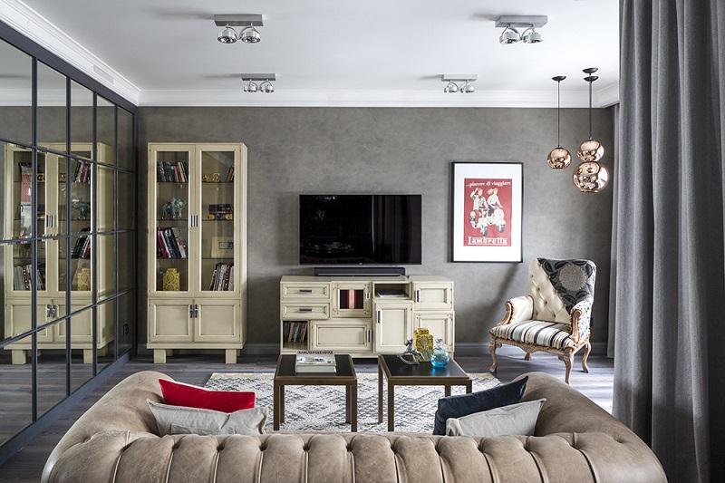 Дизайн двухкомнатной квартиры хрущевки (42 фото