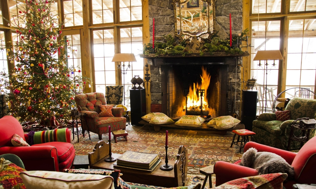 Декор квартиры к Новому году