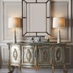 Зеркала, столики, консоли