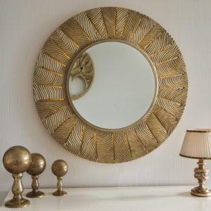 Круглые и овальные зеркала